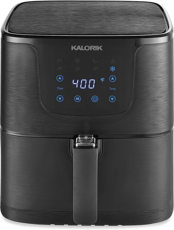 Kalorik 5.3 Quart Matte Black Digital Air fryer Pro XL