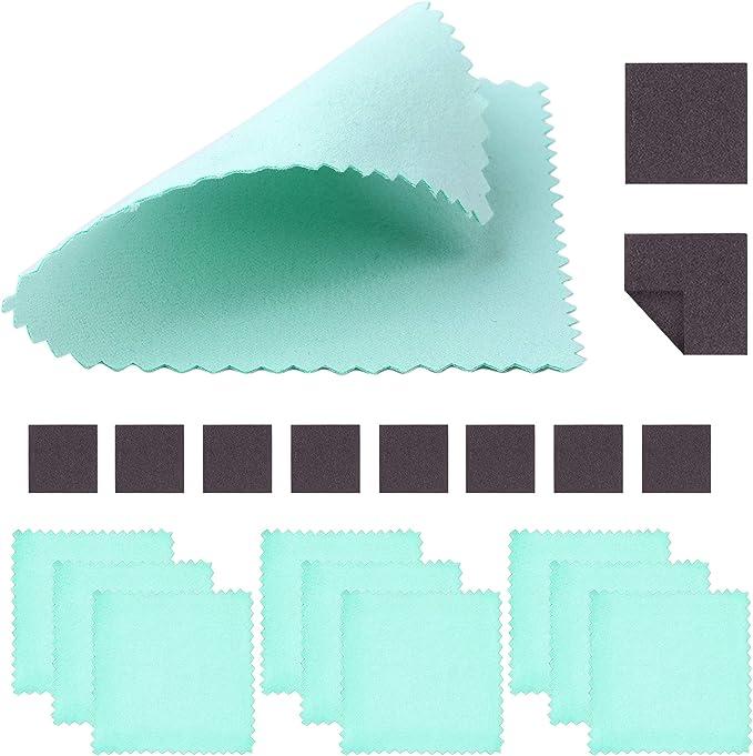 Use to Remove Tarnish and Polish Silver to a Mirror Like Finish Silver Polishing Cloth