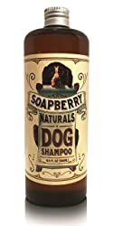 THE ORIGINAL Soapberry Dog Shampoo, All-Natural, Conditions-Allergic Skin, Perfect pH, Great for Puppies,16oz.