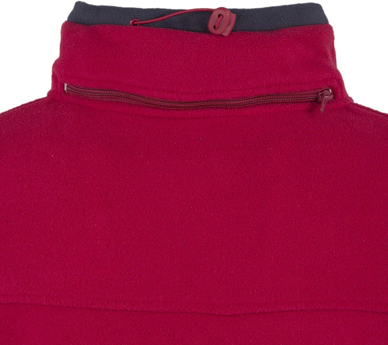 Geographical Norway TAMAZONIE-Rouge-Marine Sweatshirts und Fleecejacken Herren Rot Fleecepullover
