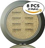 8x Magnetic Eyelashes [ENHANCED VERSION] No Glue Premium Quality False Eyelashes Set for Natural Look - Best Fake Lashes Extensions 3D Reusable