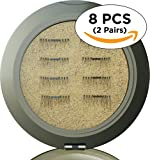 Amazon Price History for:8x Magnetic Eyelashes [ENHANCED VERSION] No Glue Premium Quality False Eyelashes Set for Natural Look - Best Fake Lashes Extensions 3D Reusable