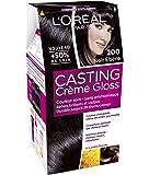 L'OREAL - Coloration - CASTING CRÈME GLOSS - Couleurs chatain et foncé - 200 noir ebene