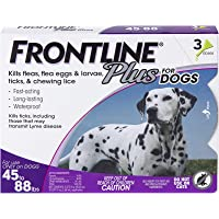 Deals on Frontline Plus Flea and Tick Treatment for Dogs