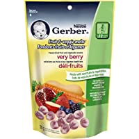 Gerber Fruit and Veggie Berry Snack, 28g (7 pack)