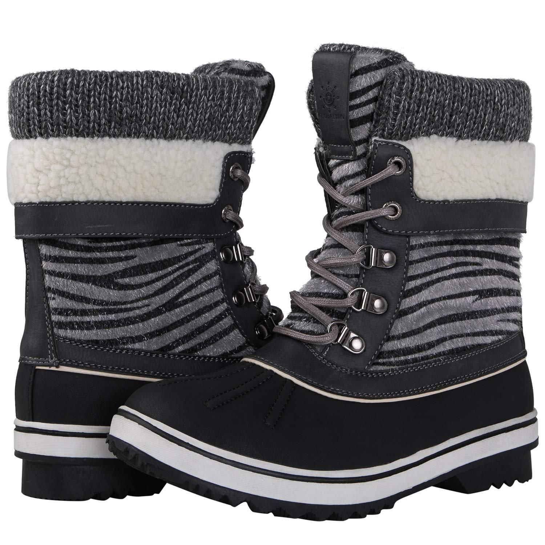 120973f47f9 Amazon.com | GLOBALWIN Women's Waterproof Winter Snow Boots | Snow Boots