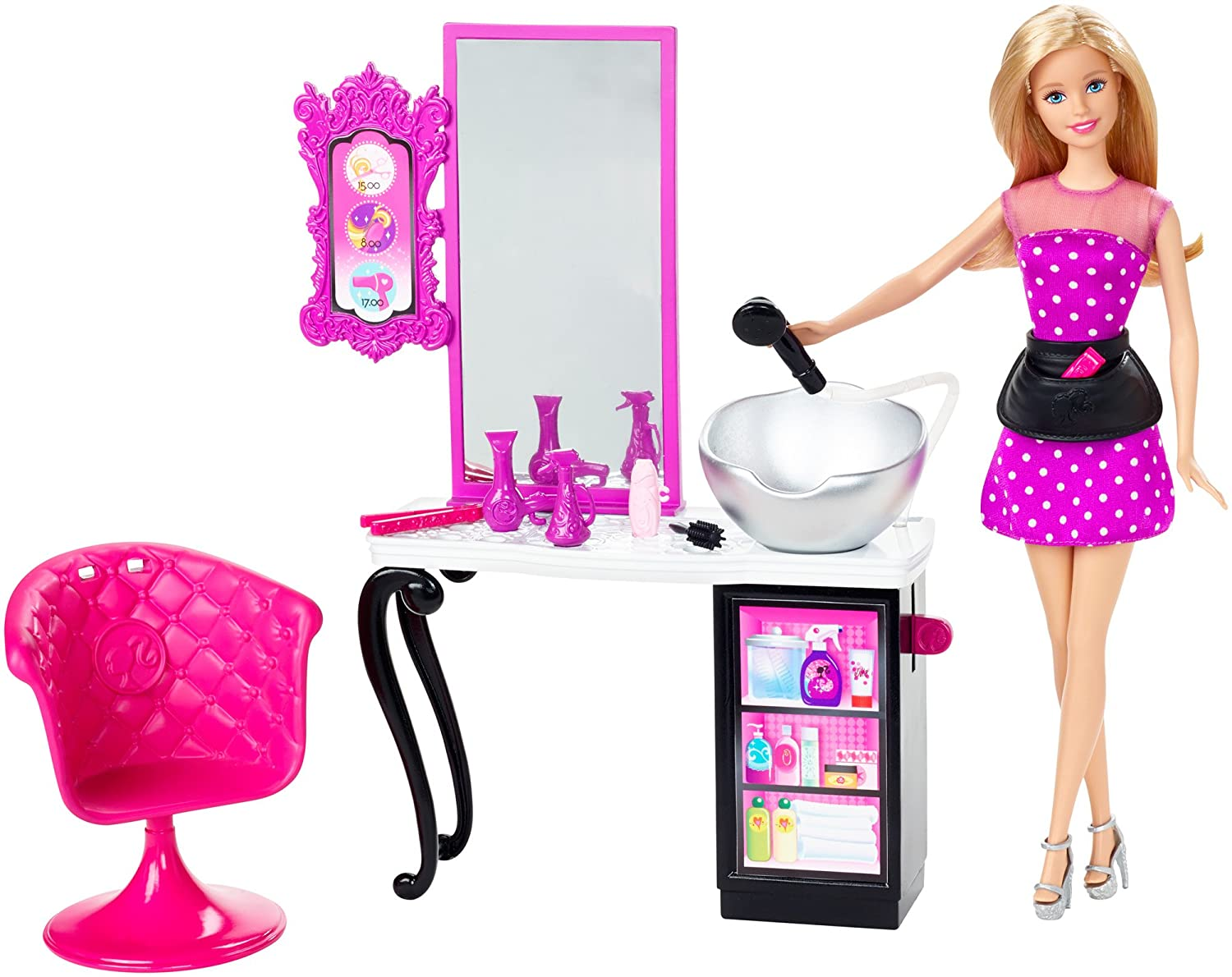 Mattel Barbie Style Salon and Doll CMM55