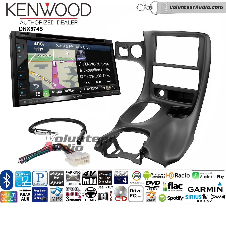 ボランティアオーディオKenwood dnx574sダブルDINラジオインストールキットwith GPSナビゲーションApple CarPlay Android自動Fits 1997 – 2004 Corvette B07C29QBD6