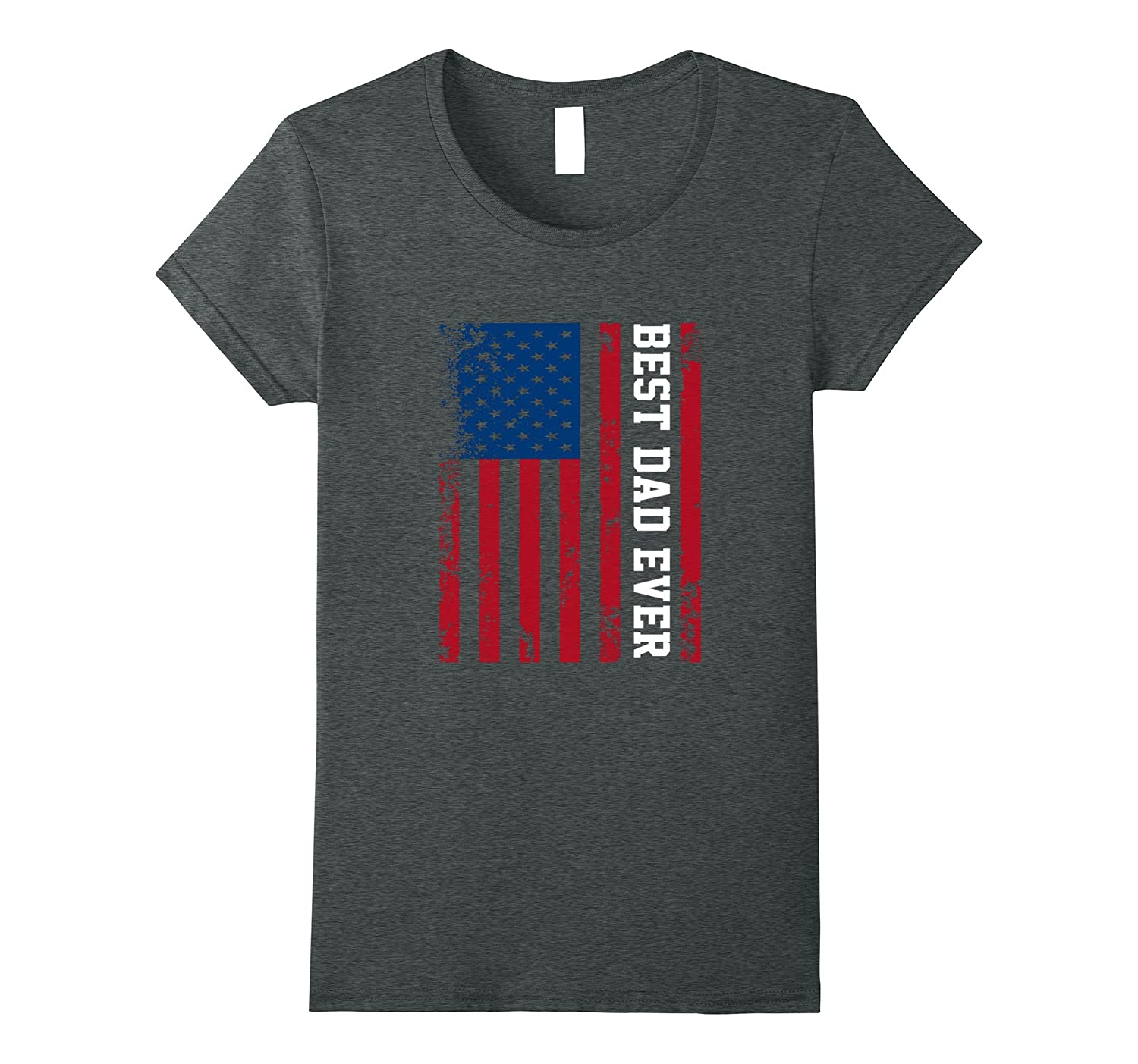 Best Dad Ever American Flag Tshirt For Fathers Day