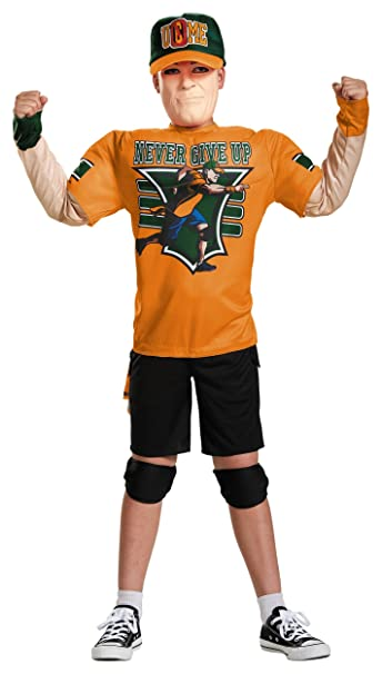 Amazon.com: Disfraz de John Cena Muscle Classic para niño ...