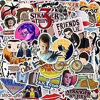 50 Pack Stranger Things Stickers Laptop Water Bottle Decal Waterproof Vinyl Stickers for Teens, Girls, Women Skateboard…