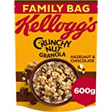 Kellogg's Crunchy Nut Chocolate and Hazelnut Granola, 600 g