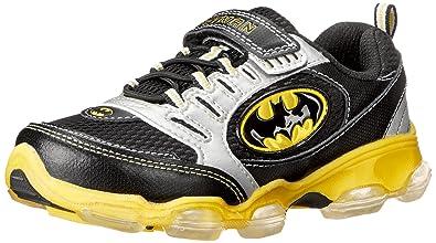 32bb0d68dd Amazon.com: Stride Rite Batman Light-up Athletic Shoe(Infant/Toddler ...