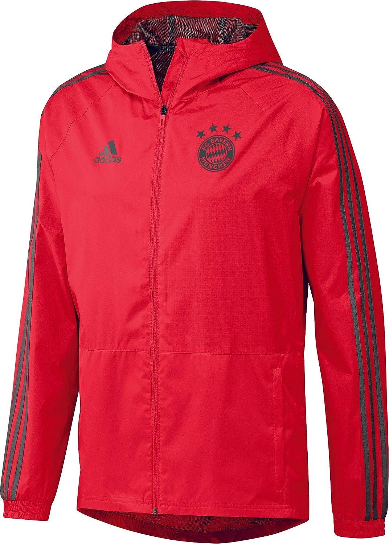 Adidas Herren 18 19 FC Bayern Regenjacke