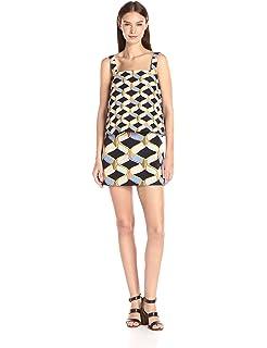 4f9db47035f Amazon.com  MILLY Women s Floral Print Mini Dress  Clothing