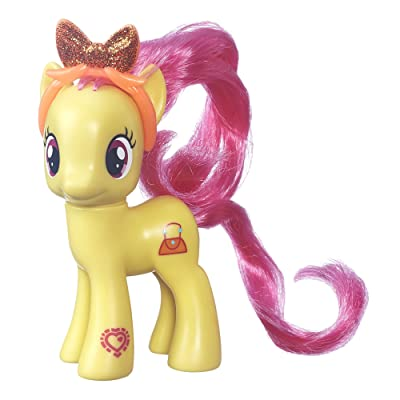 My Little Pony Friendship is Magic Pursey Pink Figure: Toys & Games