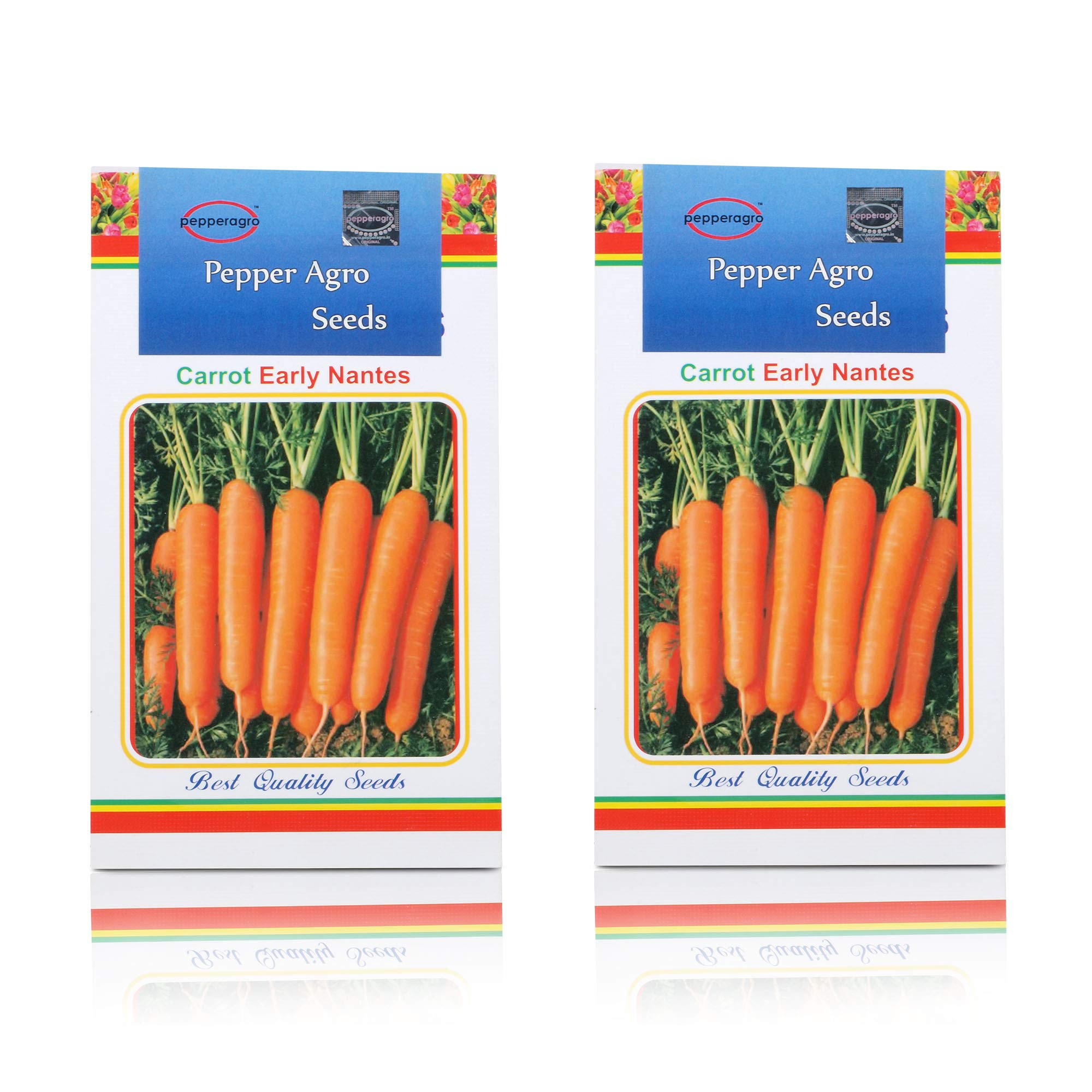 Pepper Agro Carrot Vegetable seeds 2 packs (B074Y3JVX8) Amazon Price History, Amazon Price Tracker