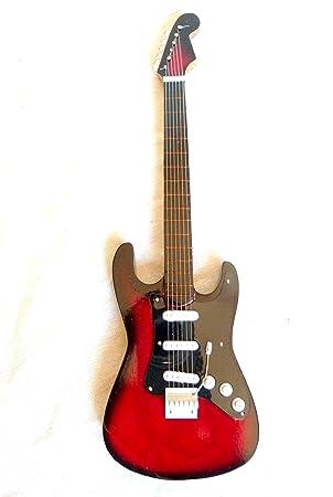 Guitarra en miniatura decorativa Guitarra Guitar Gibson SG Standard 24 cm color Rojo # 150
