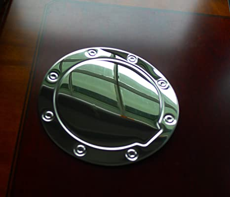 00-06 Chevy Suburban Triple Chrome Plated ABS GAS TANK FUEL Door Cover TRIM SUV