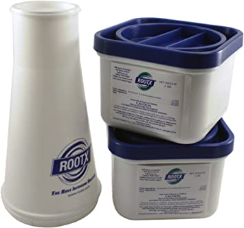 ROOTX 2 Pound Container Plus Funnel Bundle The Root Intrusion Solution Kit