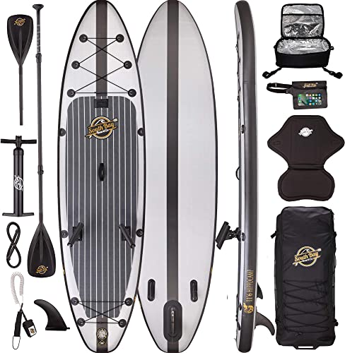 Premium Inflatable Stand Up Paddle Board Package – 10 6 Aqua Discover ISUP