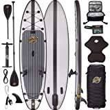 Premium Inflatable Stand Up Paddle Board Package - 11'6 Hippocamp Fishing ISUP