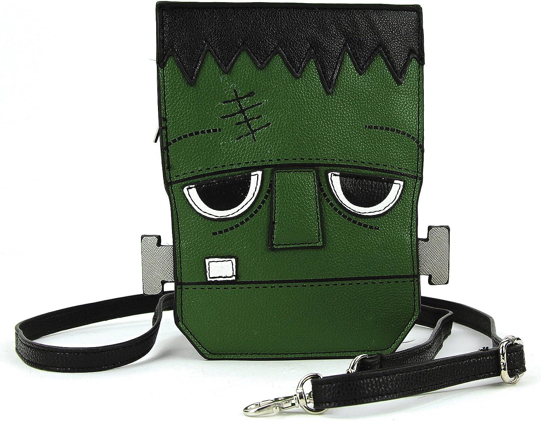 Sleepyville Critters - Frankenstein Crossbody Bag in Vinyl