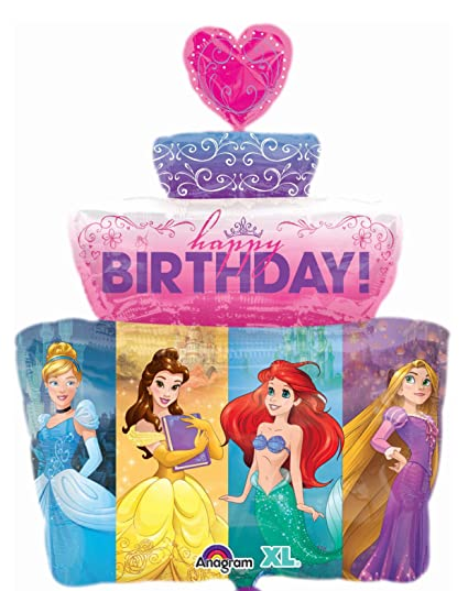 Image Unavailable Not Available For Color Disney Princess Cake Happy Birthday
