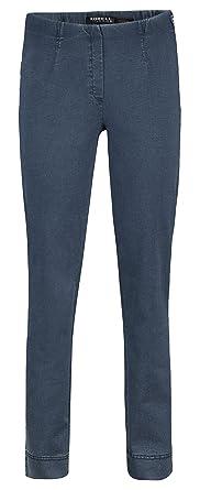 Robell Femme Droite 42 Jeans Jambe Bleu HI9WE2D