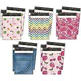 10x13 Variety Pack #3 Designer Poly Mailers Shipping Envelopes Premium Printed Bags 5 Designs (50pcs)