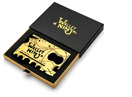 Amazon.com: Wallet Ninja GOLD (edición limitada) 18 en 1 ...