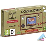 """2020 Newest Nintendo Game & Watch: Super Mario Bros - 2.36"""" Full-Color LCD Screen - Christmas Holiday Bundle for Game Watch S"""