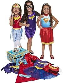 DC Super Hero Girls DCSHG 21 Piece Dress-Up Trunk