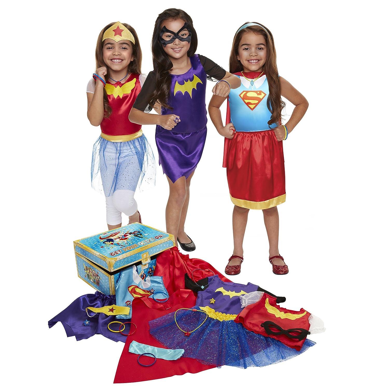 DC Super Hero Girls DCSHG 21 Piece Dress-Up Trunk Jakks 69388