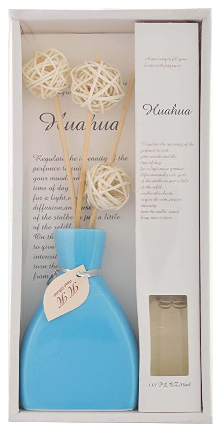 BananaTree Ceramic Incense Sticks, Vase with 30 ml Oil (12 cm x 4 cm ...