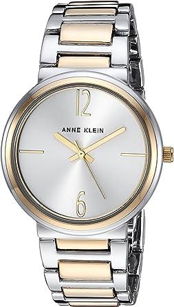 Amazon.com: Anne Klein Women's AK/3169SVTT Two-Tone Bracelet Watch: Anne Klein: Watches