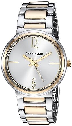 Amazon.com: Anne Klein - Reloj de pulsera para mujer, talla ...