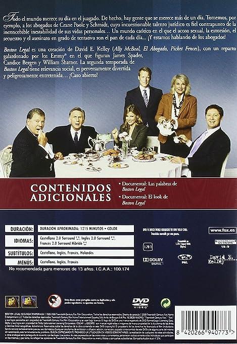 Boston Legal (2ª Temporada) [DVD]: Amazon.es: Mark Valley, James ...