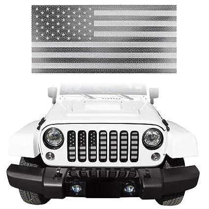 Amazon Com Seven Sparta Front Grill Insert For Jeep Wrangler Jk Jku