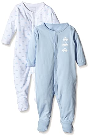 f52861e5b NAME IT Baby Boys NITNIGHTSUIT W F NB B NOOS Sleepsuit ...