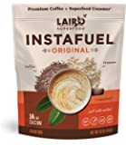 Laird Superfood Instafuel Instant Coffee - Delicious Mix of Premium Coffee and Our Original Superfood Non-Dairy Creamer…
