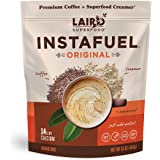 Laird Superfood Instafuel Instant Coffee - Delicious Mix of Premium Coffee and Our Original Superfood Non-Dairy Creamer, 1lb