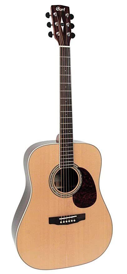 CORT guitarra Dreadnought Western EARTH100Rw-nat: Amazon.es ...