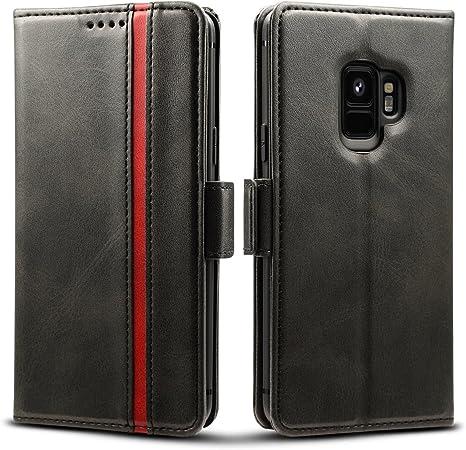 Rssviss Samsung Galaxy S9 Hülle Premium Leder Elektronik