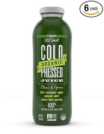 7-Select GO!Smart Jugo orgánico prensado en frío, paquete de ...