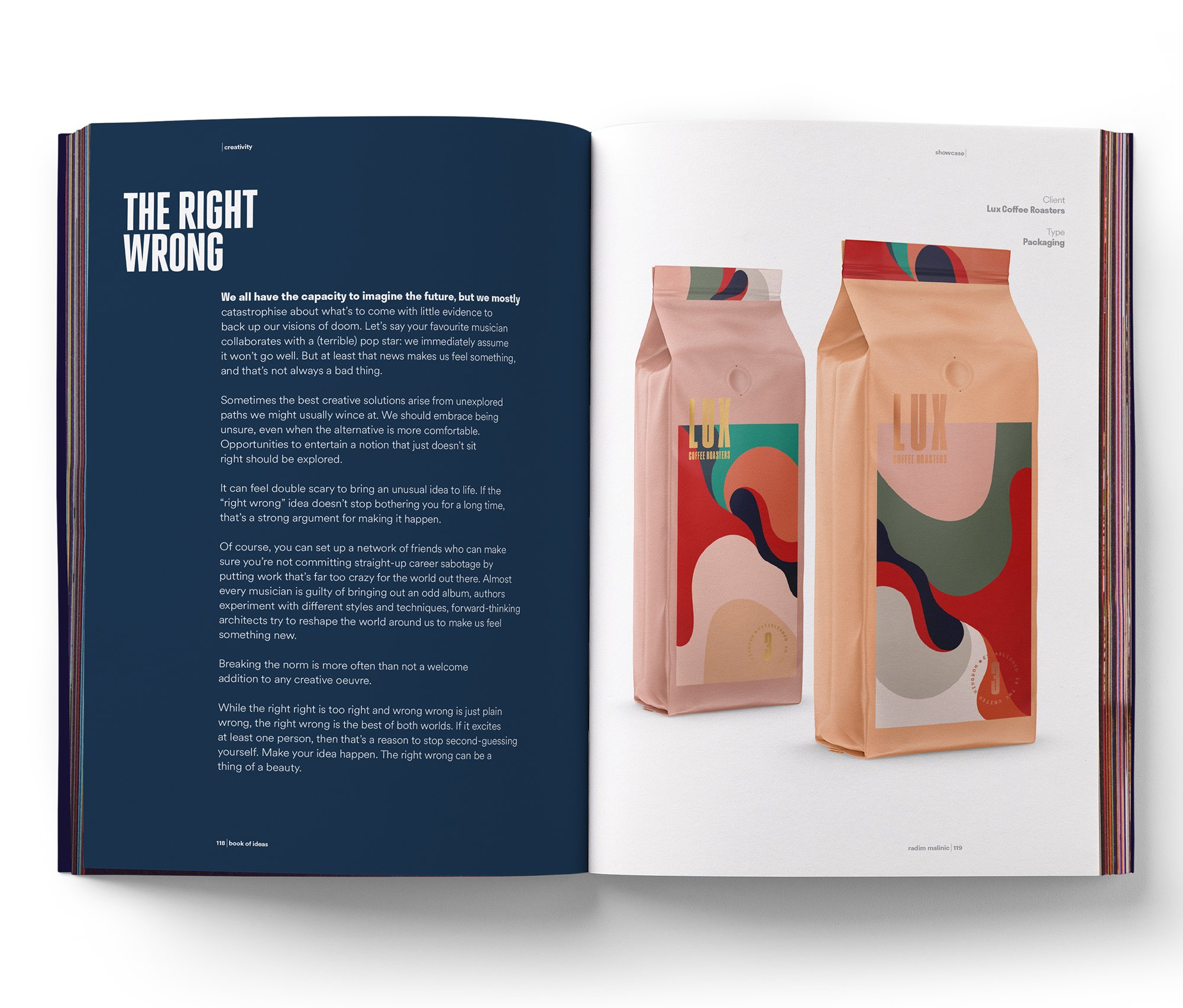 Malinic, R Book of Ideas a journal of creative direction and ...
