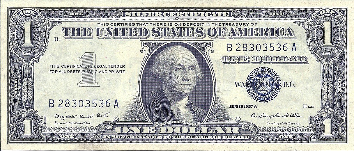 Amazon 1 Dollar Bill 1957 A Everything Else