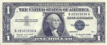 1$ bill