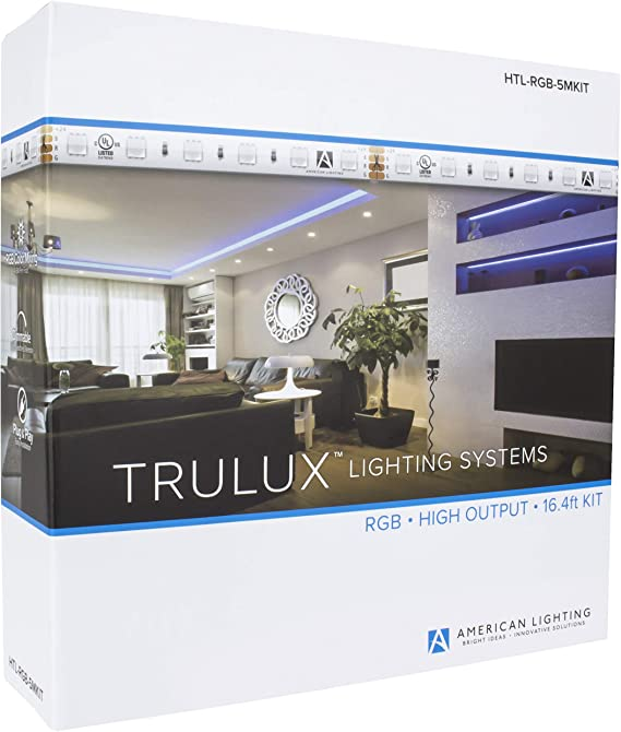 Premium High Density -300 LEDs Warm White Shop displays Bedrooms and More Cabinets Simple Lighting Solutions for Kitchens 12V DC IP65 Waterproof 16.4ft//5m LED Strip Lights