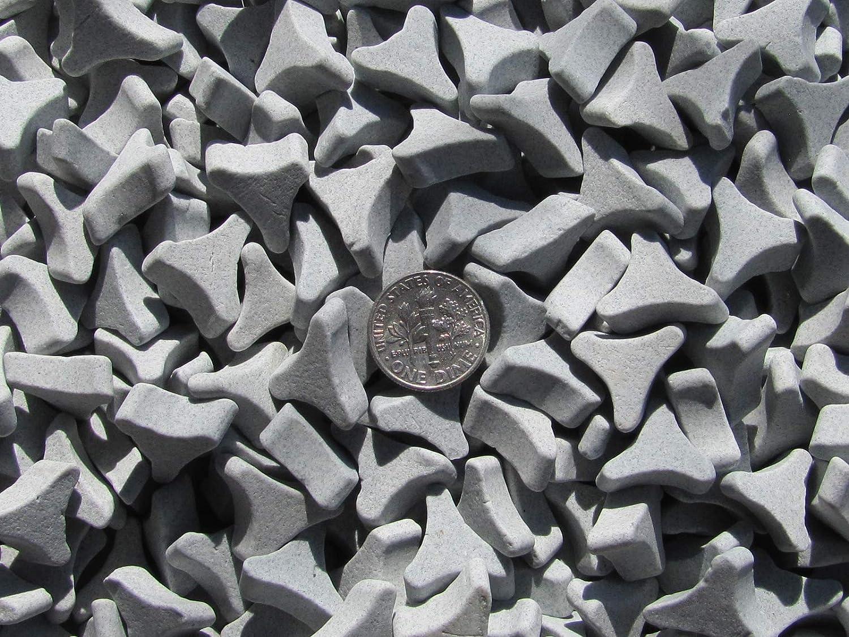 6 Lb 5//8 X 1//4 Angle Cut TriStar Abrasive Triangle Ceramic Tumbling Tumbler Tumble Media M General Purpose